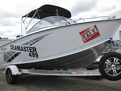 New, Stacer 499 Seamaster