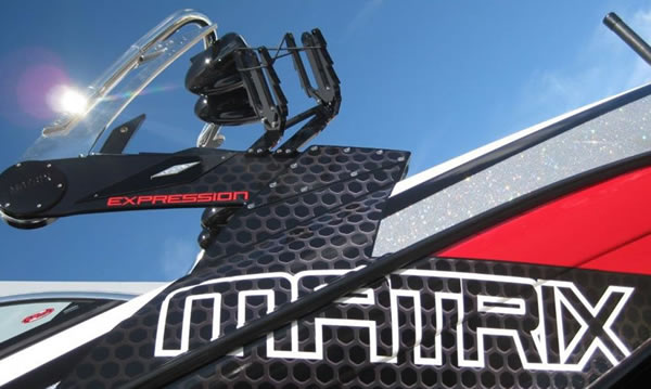 Matrix MT-X Hinged folding wakeboard tower